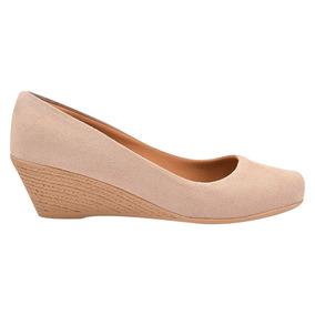 22783e3ae Sapato Social Rasteiro Feminino Scarpins - Sapatos no Mercado Livre ...