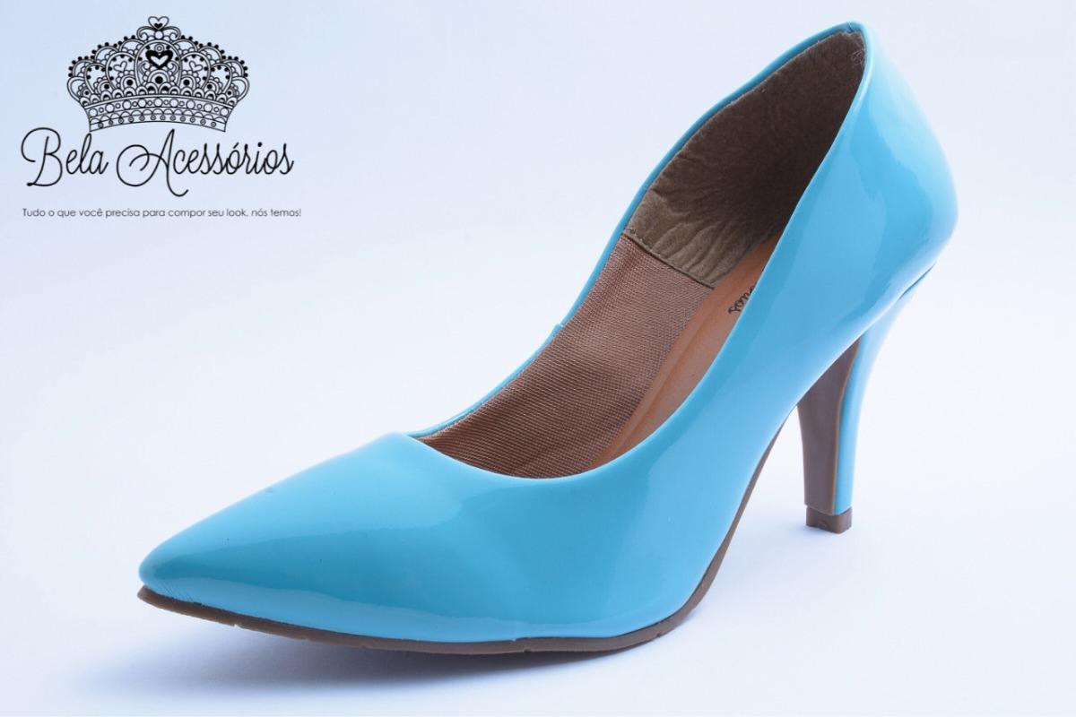f017522ac65e9 sapato social scarpin feminina salto alto fino festa comfort. Carregando  zoom.
