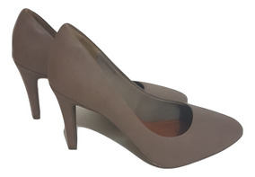 9b31330ca1 Marrom Tam39 Carretel 9 Sapato Scarpin Cori Pelinhos Bege - Sapatos ...