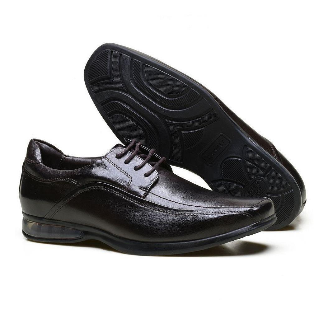 207382b5a2 sapato social supertech air em couro nobre calvest 3350c633. Carregando  zoom.