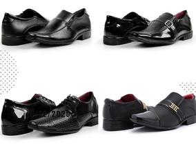 15a3a7ff8 Sapatos Social Masculino Luxo Atacado - Sapatos com o Melhores Preços no  Mercado Livre Brasil