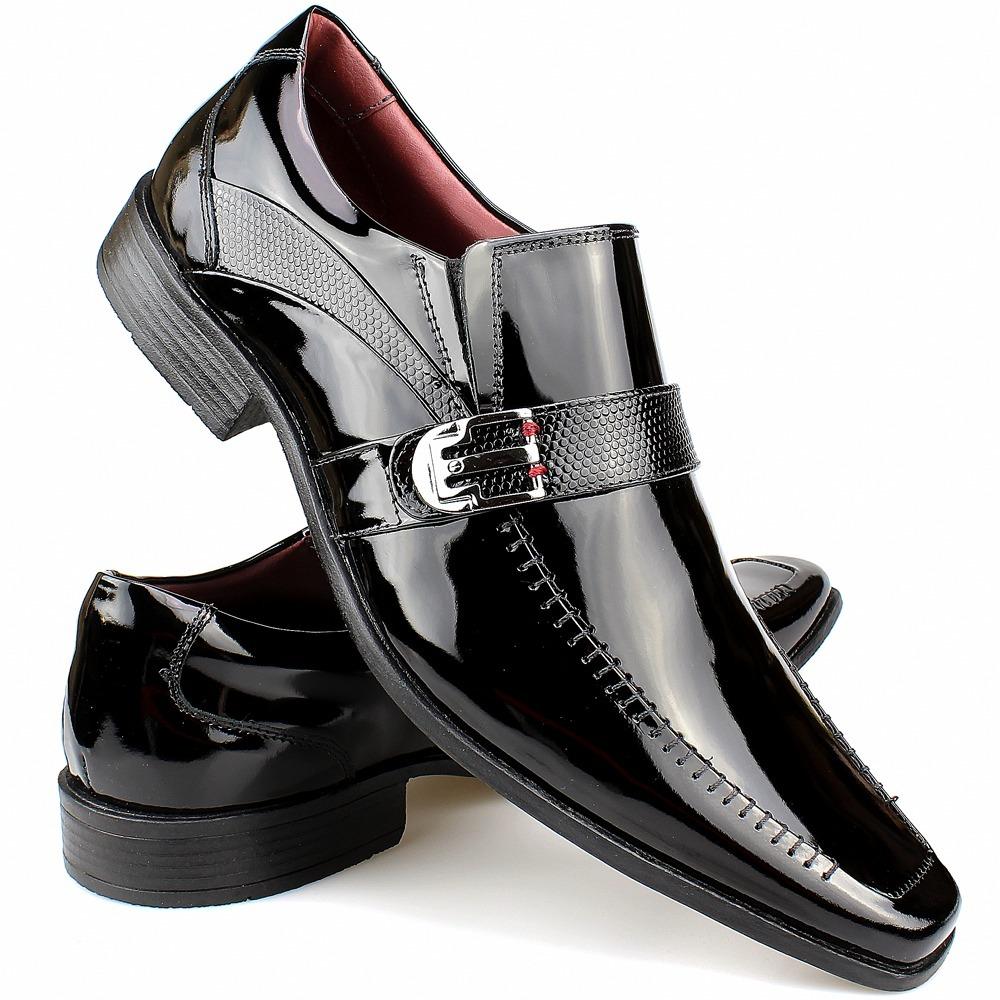 dc15baf7d sapato social verniz gofer lançamento calçados de franca. Carregando zoom.