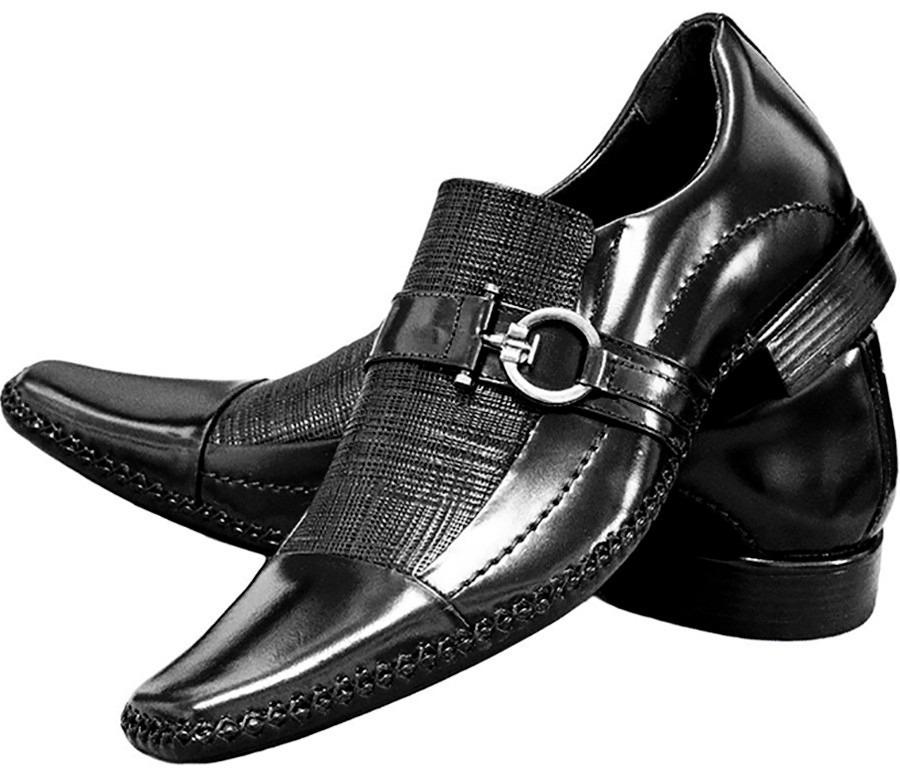 0a5a64b7e sapato social verniz luxo couro brilhoso estiloso gofer. Carregando zoom.