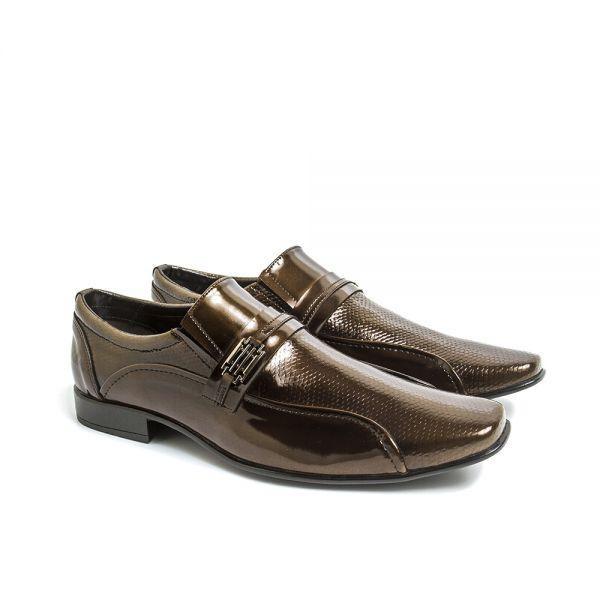 89aca0ebd Sapato Social Vnt Elegante Classic Conforto - R$ 90,49 em Mercado Livre