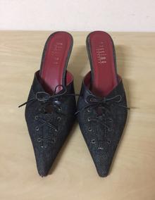 bcb8e408f4 Cal a Chofis Jeans N. 40. Feminino Sandalias - Calçados