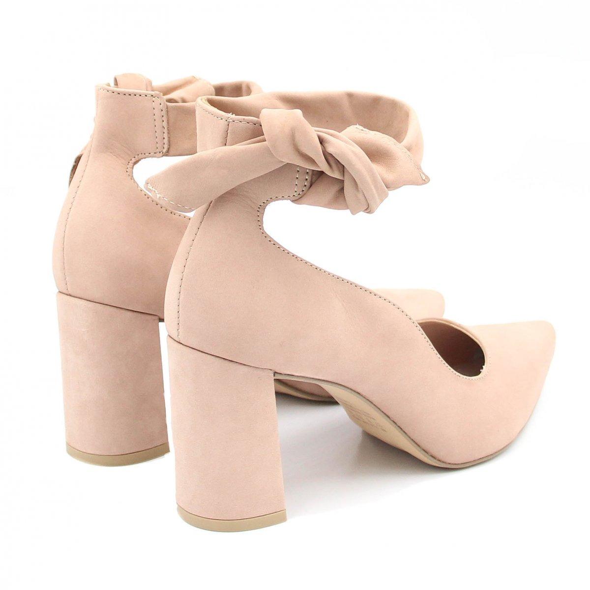 700c5501c Sapato Tanara Scarpin Couro Nó | Zariff - R$ 244,99 em Mercado Livre