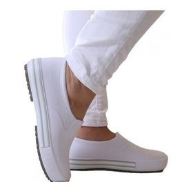 Sapato Tênis Branco De Enfermagem Soft Works Bb80- Unissex