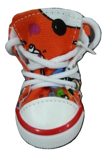 sapato tenis brinquedo kit petshop pet cao gato cachorro t01