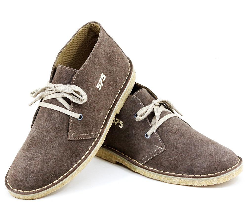 3d42a140b5d sapato tenis camurça solado crepe cor castor modelo 775. Carregando zoom.