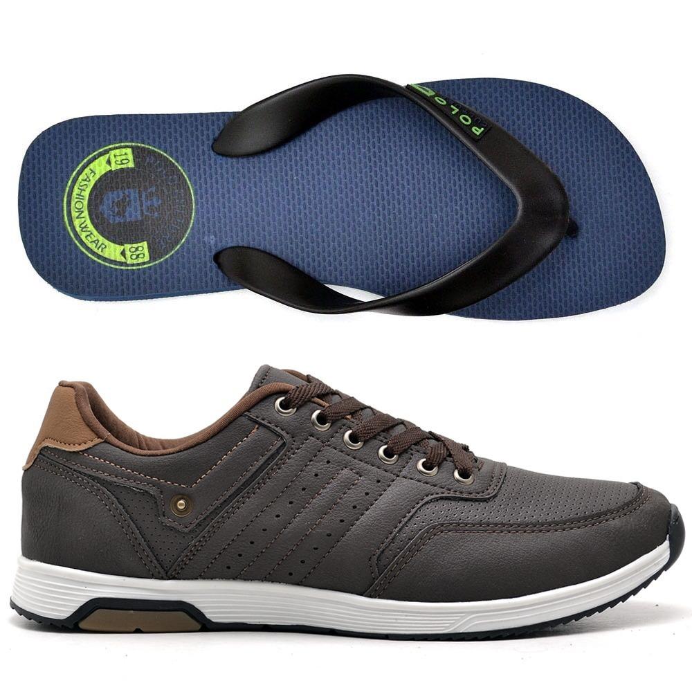 a62cd51c81b sapato tenis casual bom e barato moderno em promoçao. Carregando zoom.