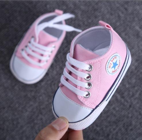 c5b72bb11a7 Sapato Tenis De Bebe Importado All Star Rosa - R  34