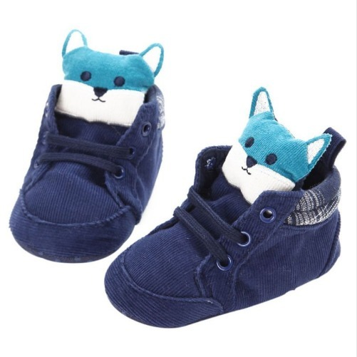 Sapato Tenis De Bebe Importado Modelo Gato Azul - R  34 a047dceb6d3