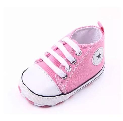49385ca74ad Sapato Tenis De Bebe Similar All Star Rosa Menina Estrela - R  34