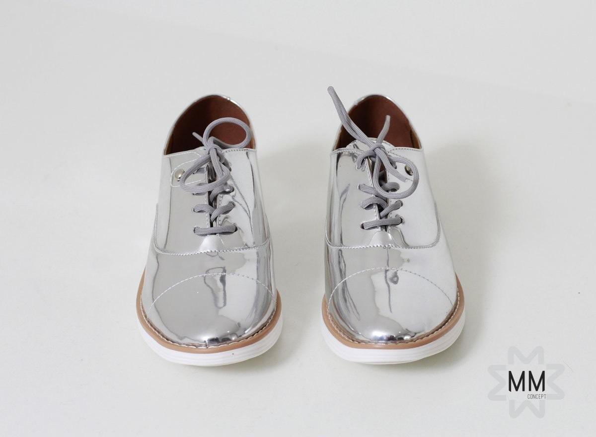 bad6bcfe33 Sapato Tenis Oxford Feminino Vizzano - R  99