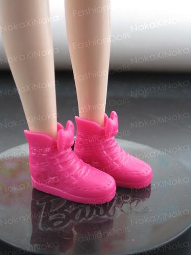 sapato tenis pink para boneca blythe pullip * sapatinho