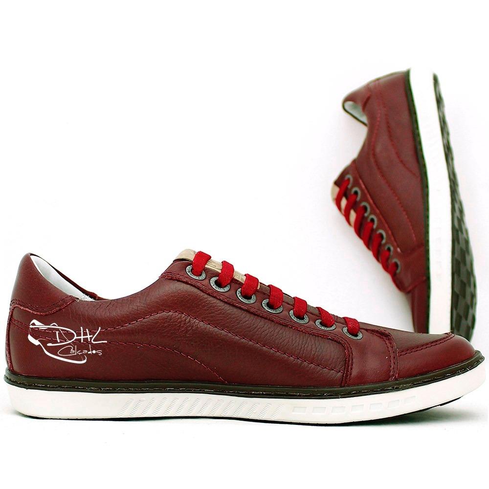abc2491c2d sapato tênis casual social direto da fabrica couro legitimo. Carregando  zoom.