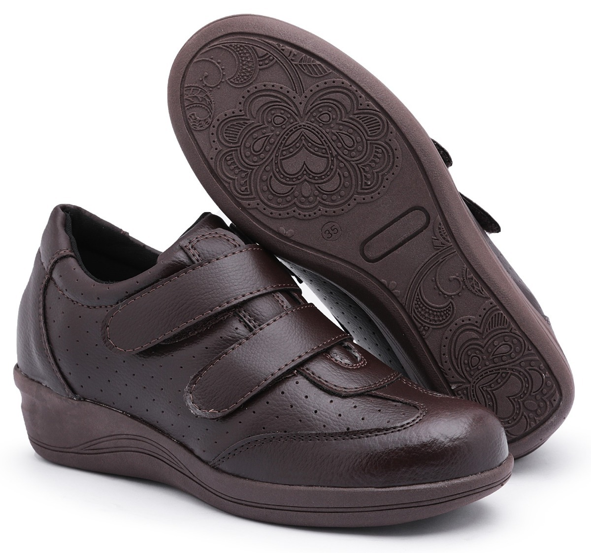 ec9456960e1 sapato tênis feminino anabela p idosas - preço baixo oferta. Carregando  zoom.