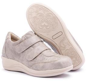 205f55a0434 Sapato Branco Confort Pizaflex Em Feminino - Calçados