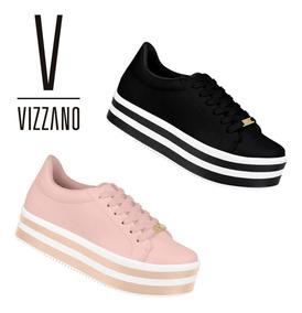 6dc8310f5 Tenis Feminino Da Loja Besni Vizzano - Sapatos com o Melhores Preços ...