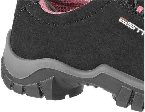 sapato tênis segurança feminino elástico estival