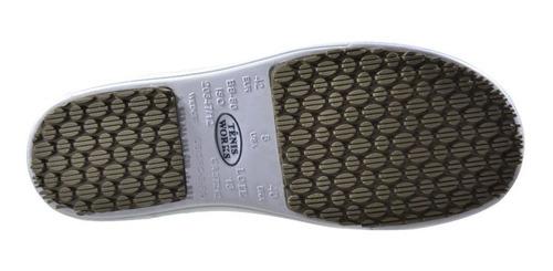 sapato tênis works com c.a uso em clinicas e enfermagem