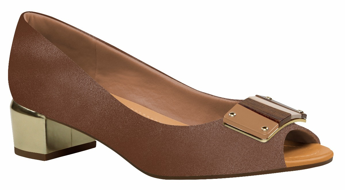 7a51ebef5 Sapato Usaflex Aberto Na Frente Ref. 7002 - Casas Ling - R$ 207,00 ...