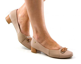 b6a2d1a1f Sapato Scarpin Usaflex - Sapatos no Mercado Livre Brasil