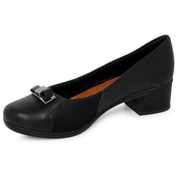 f680fe922 Sapato Usaflex V8408/01 Preto - R$ 149,90 em Mercado Livre