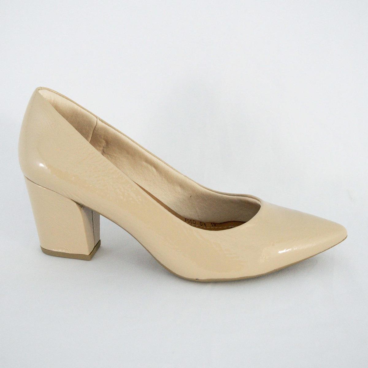 5515583539 sapato usaflex z7601 scarpin veniz soft nude islen calçados. Carregando  zoom.