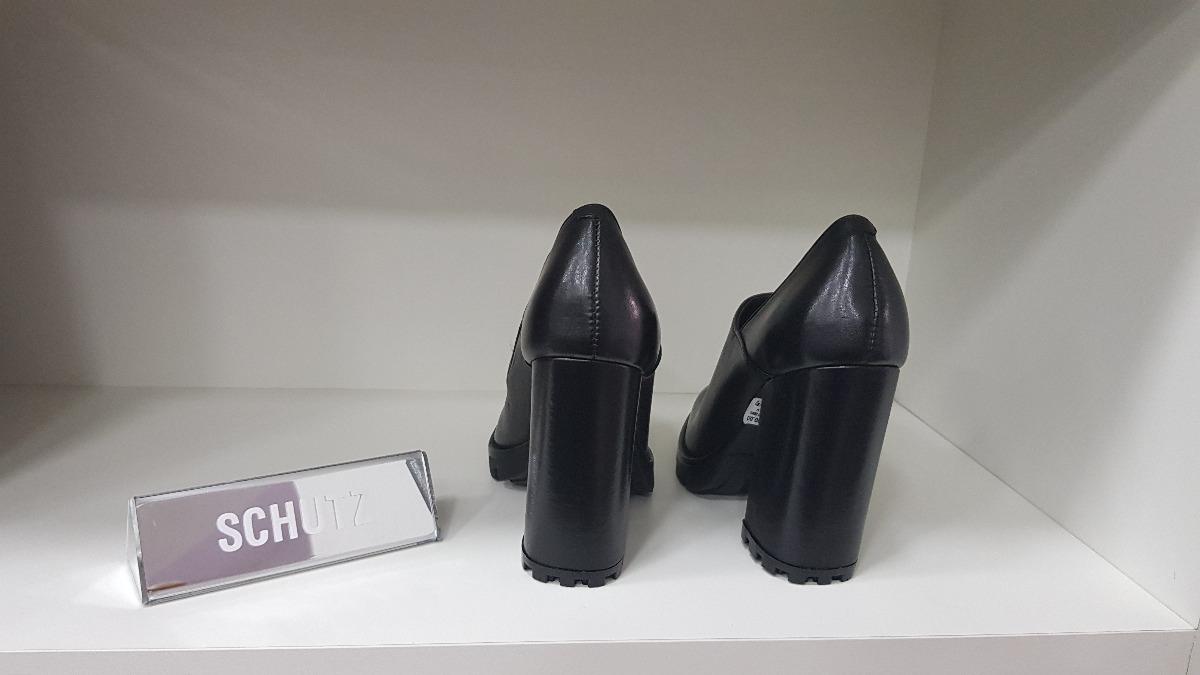 83030910a sapato vegetal - schutz -sapato salto grosso sola tratorado. Carregando  zoom.