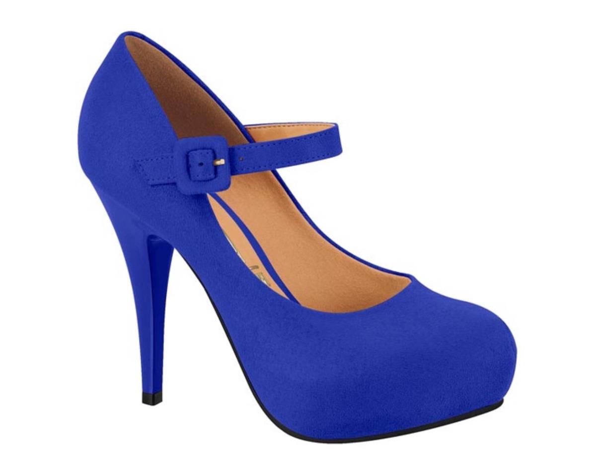 1572f1fa39 sapato vizzano boneca camurça azul 1143.304. Carregando zoom.