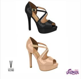 ee6079b2ac Sapatos Meia Pata Nude Vizzano - Sapatos no Mercado Livre Brasil