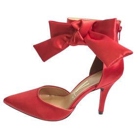 cf935ff07 Scarpin Vizzano Laço - Sapatos com o Melhores Preços no Mercado Livre Brasil