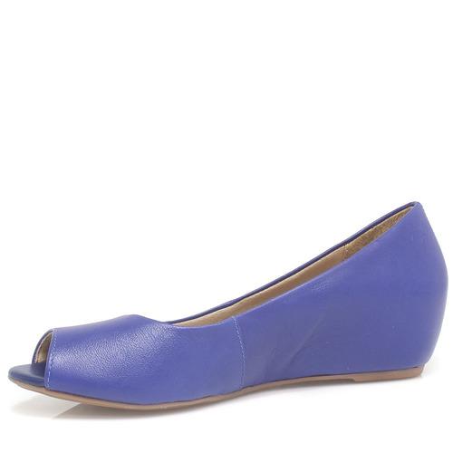sapato zariff shoes peep toe anabela | zariff