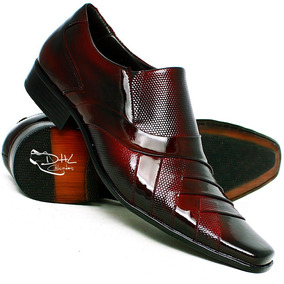 6dd69e075 Sapato De Couro Gofer Premium Masculino - Sapatos Violeta escuro no ...