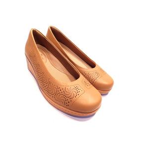 dc7e54519 Sapato Anabela Usaflex - Sapatos no Mercado Livre Brasil
