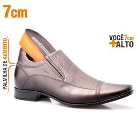 6da12f2732 Sandalia Masculina Para Aumentar Altura 7cm - Sapatos no Mercado ...