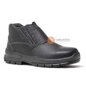 bf9568f97c93f Bota De Seguranca Fujiwara Masculino Botas - Sapatos no Mercado ...