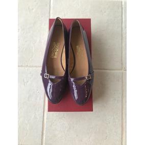 68733eda0007e Lindo Sapato Salvatore Ferragamo Originalissimo - Sapatos no Mercado ...