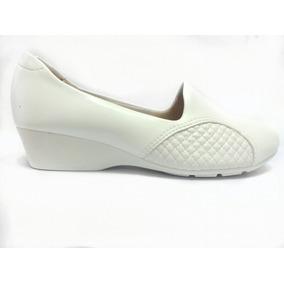 bd11b9bf0 Sapatos Ultra Confort Feminino - Sapatos Branco no Mercado Livre Brasil