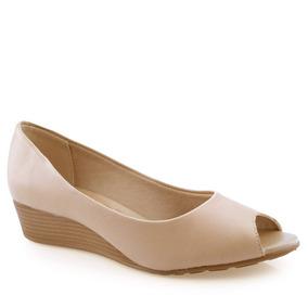 9448649d9 Peep Toe Vazados Amarelo Beira Rio - Sapatos no Mercado Livre Brasil