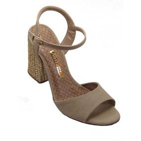 5a689f6ba7 Nova Coleção Via Marte Sandalias - Sapatos Nude no Mercado Livre Brasil