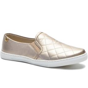 4e40589c0 Sapato Feminino Estiloso Alpargata Super Confortável Couro