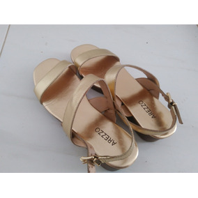 a20a5eba2 Plataforma Arezzo Artesania Branca - Sapatos no Mercado Livre Brasil