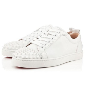 Sapato Tenis Louboutin Masculino Couro- Pronta Entrega