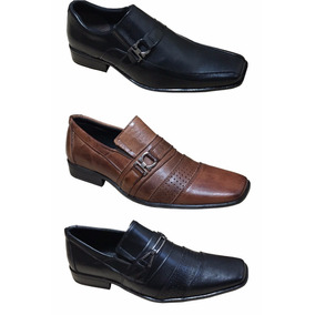 Sapato Social Masculino Kit C/2 Pares Promoção Sapato Barato