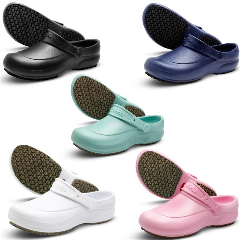 9d8468859 Sapatos Eva Cozinha Industrial Antiderrapante Softworks® Epi - R$ 79 ...