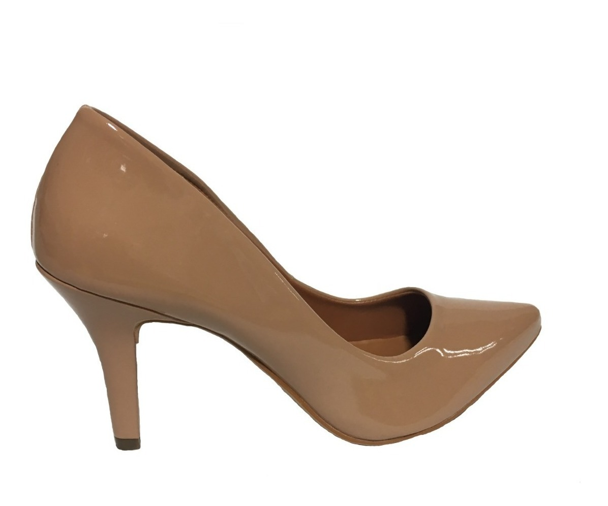 5d1ced32e1ce9 sapatos feminino scarpin salto alto 9 cm bico fino festa. Carregando zoom.