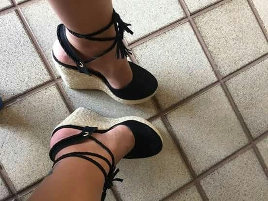 e5c1a8a9b6 Sapatos Femininos Anabela Atacado Grade Fechada - R  1.500
