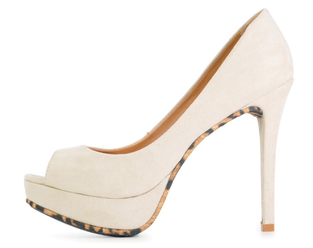 bf5da4873 sapatos femininos couro nude onca 630 tipo schutz. Carregando zoom.